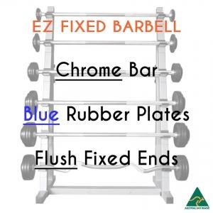 Chrome EZ bar/Blu Rub plates/Flush fixed