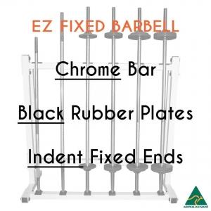 Chrome EZ bar/Blk Rub plates/Indent fixed