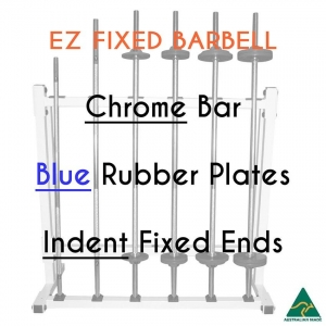 Chrome EZ bar/Blu Rub plates/Indent fixed