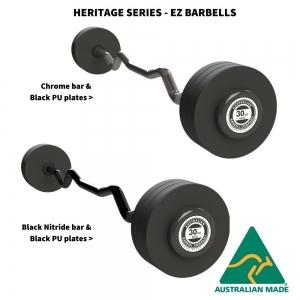 Heritage Series - Premium EZ Fixed Barbells