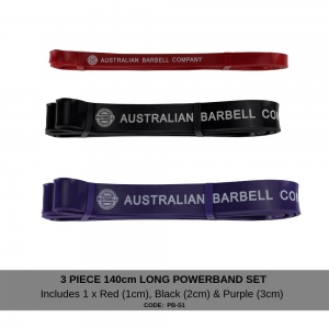 Powerband Set 1 - Red, Black & Purple