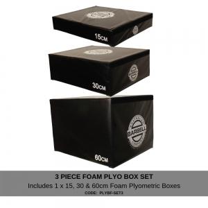 Foam Plyometric box 3 piece set