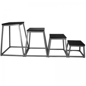 Plyometric box set - steel