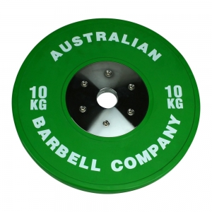 Club Series Bumper Plates (POCLUB-10 - 10kg each-Green OUT OF STOCK)