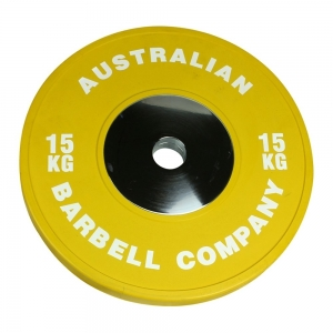 Club Series Bumper Plates (POCLUB-15 - 15kg each-Yellow OUT OF STOCK)