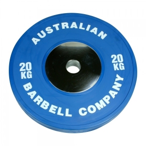 Club Series Bumper Plates (POCLUB-20 - 20kg - Blue per plate OUT OF S)