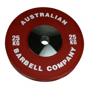 Club Series Bumper Plates (POCLUB-25 - 25kg each-Red OUT OF STOCK)