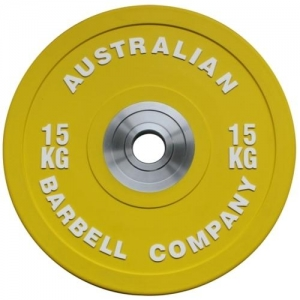 Pro Series Olympic Bumper Plates (each) (PORBP-15 - 15kg - yellow)