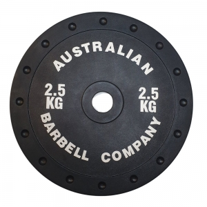 140kg Club Plate & 20kg Bar Pack (PORBP-2.5 - 2.5kg-black per plate)