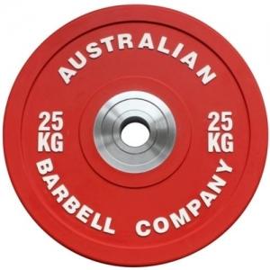 Pro Series Olympic Bumper Plates (each) (PORBP-25 - 25kg - red)