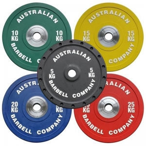 Pro Series Olympic Bumper Plates (each) - Click for more info