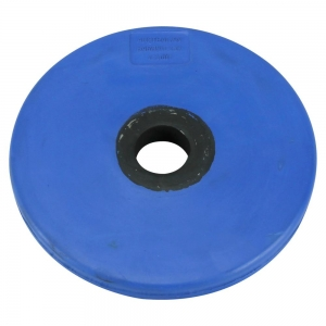 Blue rubber fixed dumbbell / barbell plates
