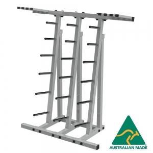 30 Set Class bar Rack (smiley plates) (RBCD30S-PS - Precious Silver)