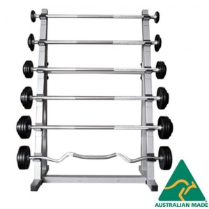 Horizontal Fixed Barbell Rack