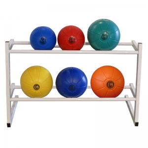 2 Tier Medicine Ball Rack