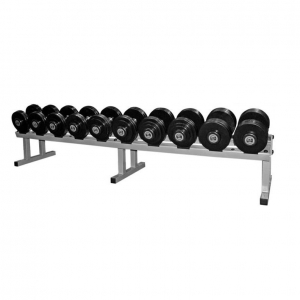Fixed dumbell rack - 5 pair single tier