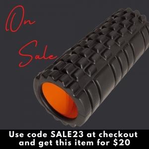 Grid roller - black