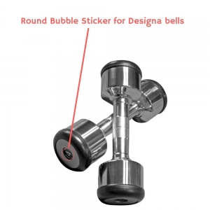 Round Bubble Sticker (25mm) - for use on Designa Bells