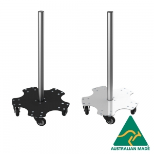 Bumper Plate Mobile Trolley