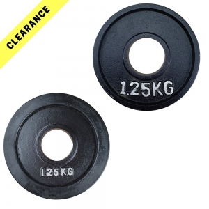 Olympic weight plates - Clearance lines
