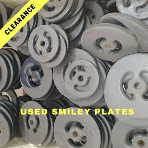 Clearance Smiley Plates - Used